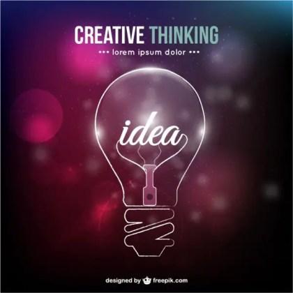 Creative Thinking Conceptual Free Vector