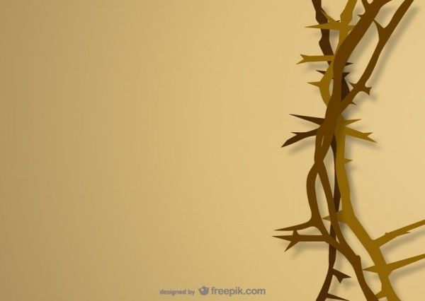 Crown of Thorns Free Vector