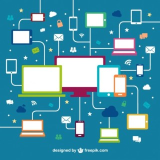 Devices Networking Free Free Vector