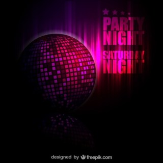 Disco Ball Background Free Free Vector
