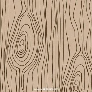 Drawn Wood Texture Free Vector
