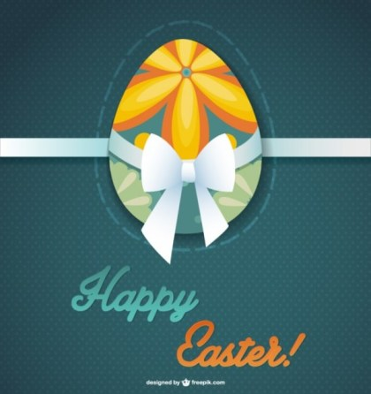 Easter Egg Graphic Free Vector