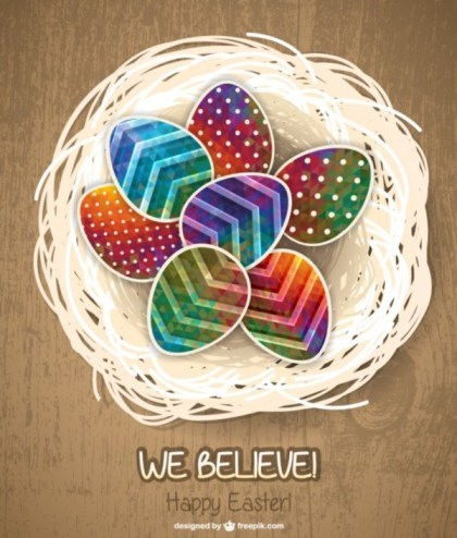 Easter Eggs Free Graphic Free Vector
