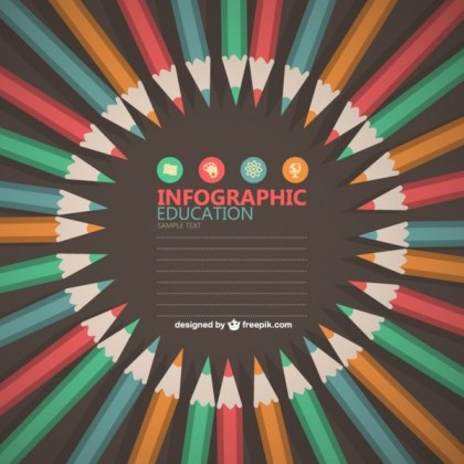Educational Infographic Free Design Free Vector