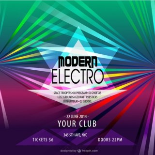 Electronic Music Free Graphics Free Vector