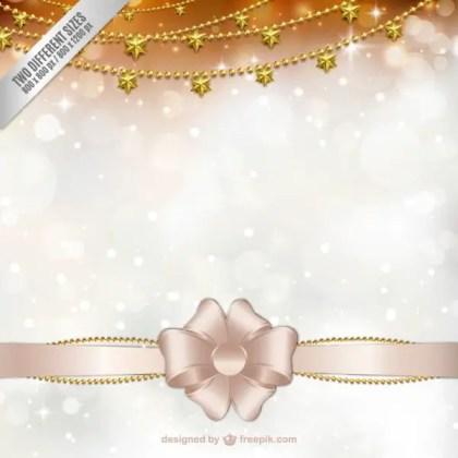 Elegant Christmas Card Free Vector