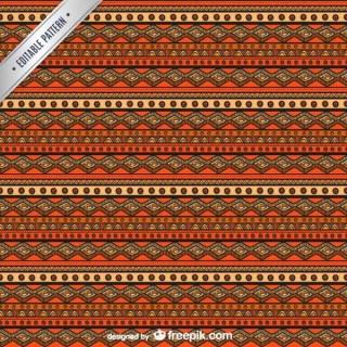 Ethnic Seamless Pattern Free Vector