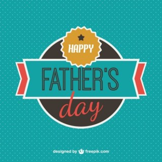 Father's Day Card Free Template Free Vector