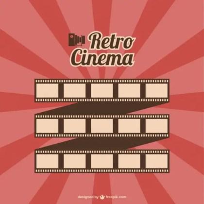 Film Roll Retro Cinema Free Vector