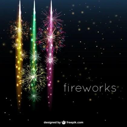 Fireworks Desig Free for Download Free Vector