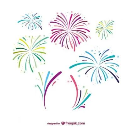 Fireworks Free Design Free Vector