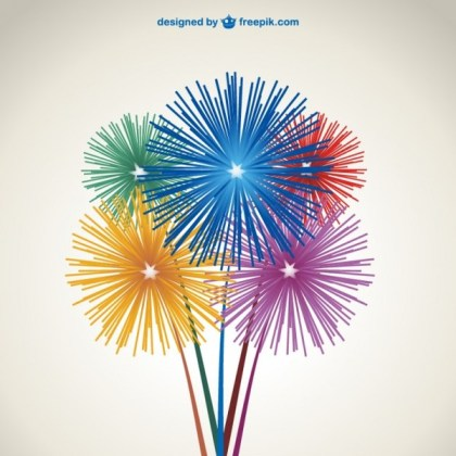 Fireworks Free Download Free Vector