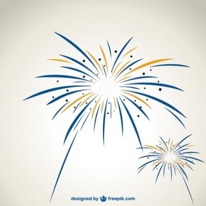 Fireworks Graphics Free Vector