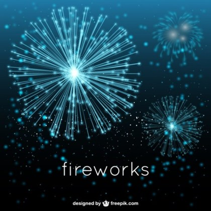 Fireworks Show Free Vector