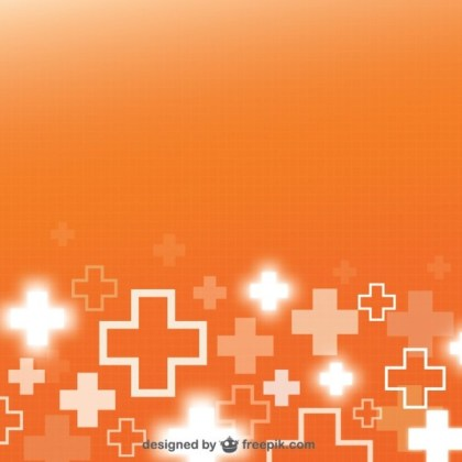 First Aid Medical Background Free Vector