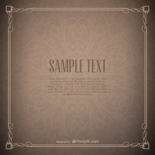 Floral Frame Wallpaper Free Free Vector