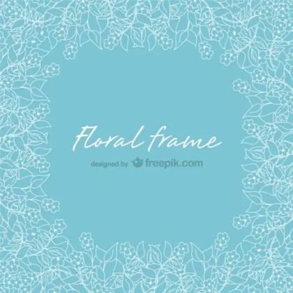 Floral Frames Free Design Free Vector