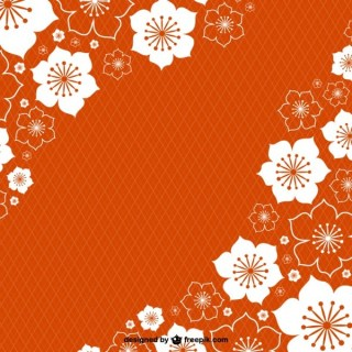 Floral Spring Background Free Vector
