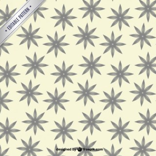 Floral Vintage Pattern Free Vector