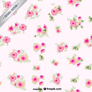 Flowers Pattern Free Vector