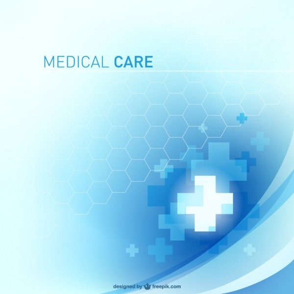 Free Abstract Medical Design Free Vector