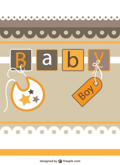 Free Baby Shower Invitation Free Vector