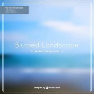 Free Blurred Beach Landscape Free Vector