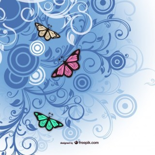 Free Butterfly Art Free Vector