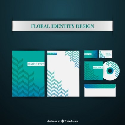 Free Corporate Identity Elements Free Vector