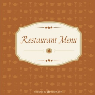 Free Restaurant Menu Image Free Vector