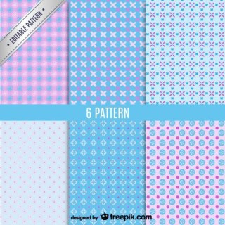 Free Seamless Pattern Pack Free Vector