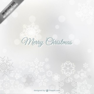Free White Christmas Background Free Vector