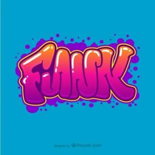 Funk Graffiti Free Vector