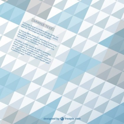 Geometric Abstract Modern Background Free Vector