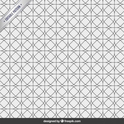 Geometric Abstract Pattern Free Vector