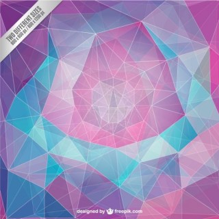 Geometric Background in Abstract Style Free Vector