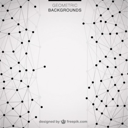 Geometric Modern Triangle Background Free Vector
