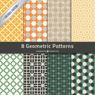 Geometric Patterns Free Vector