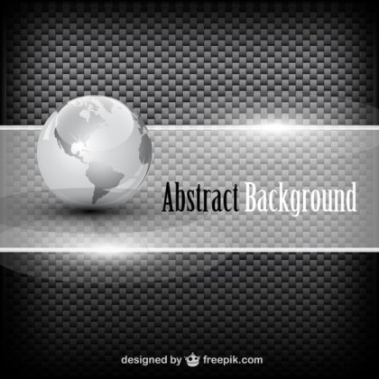 Globe Background Free Vector