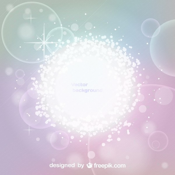 Glowing Effect Abstract Background Free Vector