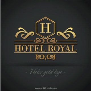 Golden Hotel Logo Free Graphics Free Vector