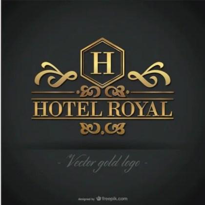 Golden Hotel Logo Free Graphics Free Vector