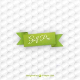 Golf Ball Texture Background Free Vector