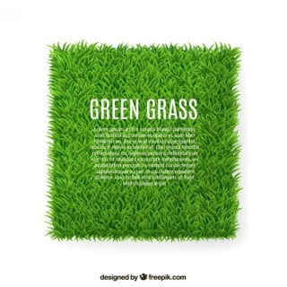Green Grass Banner Free Vector