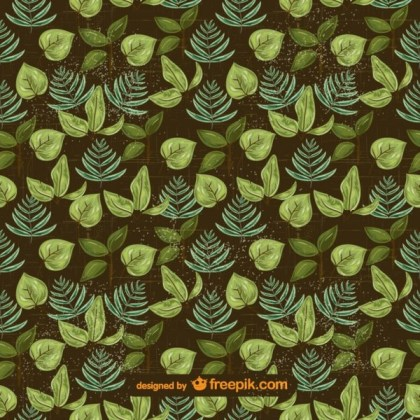 Green Leaves Free Background Free Vector