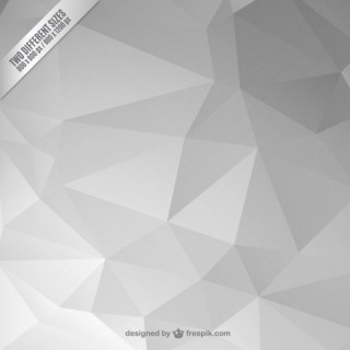 Grey Abstract Polygonal Background Free Vector