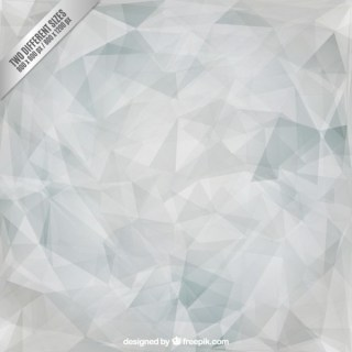 Grey Polygonal Triangles Background Free Vector