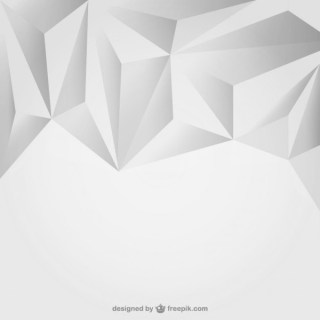 Grey Triangles Background Free Vector