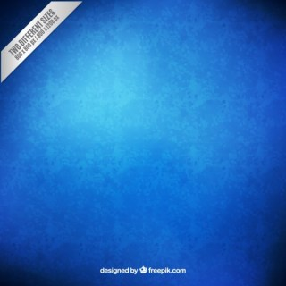 Grunge Blue Background Free Vector
