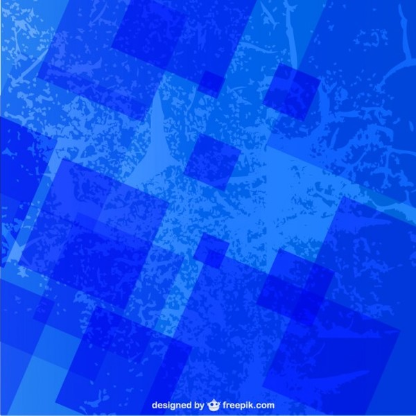 Grunge Blue Texture Free Vector